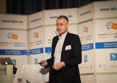 Freitag - Viktor Mayer-Schönberger im Vortrag zu Big Data